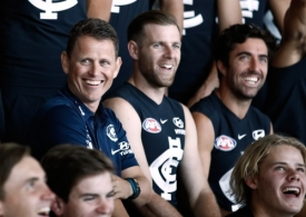 AFL 2018 Media - Carlton Blues Team Photo Day