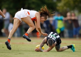 AFLW 2018 Rd 03 - Collingwood v GWS Giants