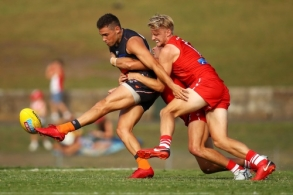 AFL 2018 Training - Sydney v GWS Giants Practice Match