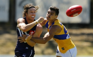 AFL 2018 Practice Match - West Coast v Fremantle