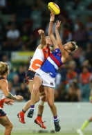 AFLW 2018 Rd 06 - GWS Giants v Western Bulldogs