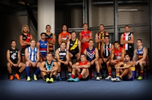 AFL 2018 Portraits - AFL Captains Day