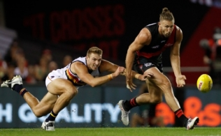AFL 2018 Round 01 - Essendon v Adelaide