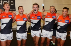 AFL 2018 Round 02 - Collingwood v GWS