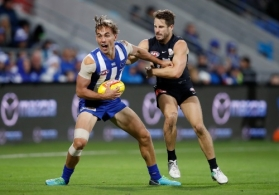 AFL 2018 Round 04 - North Melbourne v Carlton