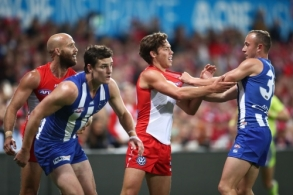 AFL 2018 Round 07 - Sydney v North Melbourne