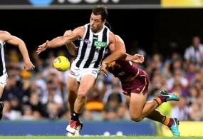 AFL 2018 Round 07 - Brisbane v Collingwood
