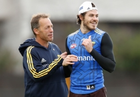 AFL 2018 Training - Hawthorn 100518