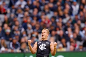 AFL 2018 Round 08 - Carlton v Essendon
