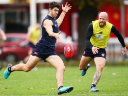 AFL 2018 Training - Melbourne 240518