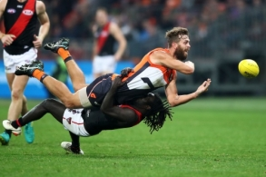 AFL 2018 Round 10 - GWS v Essendon