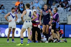AFL 2018 Round 10 - Fremantle v North Melbourne