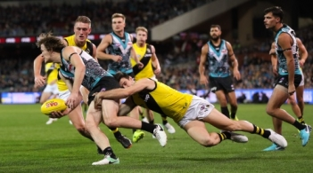 AFL 2018 Round 12 - Port Adelaide v Richmond