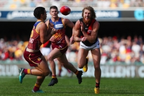 AFL 2018 Round 12 - Brisbane v Essendon