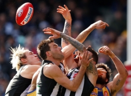 AFL 2018 Round 17 - Collingwood v West Coast