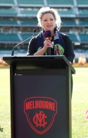 AFL 2018 Media - Melbourne BCNA Pink Lady Match Press Conference