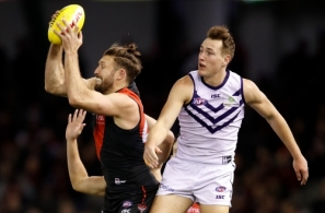 AFL 2018 Round 18 - Essendon v Fremantle