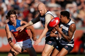 AFL 2018 Round 19 - Geelong v Brisbane