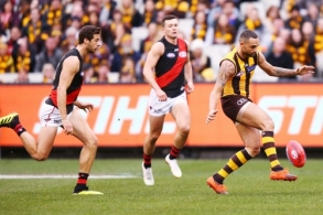 AFL 2018 Round 20 - Hawthorn v Essendon