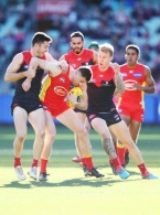 AFL 2018 Round 20 - Melbourne v Gold Coast