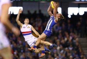 AFL 2018 Round 21 - North Melbourne v Western Bulldogs