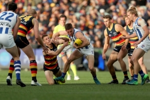 AFL 2018 Round 22 - Adelaide v North Melbourne