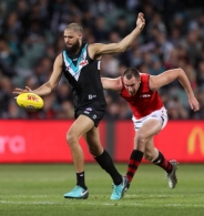 AFL 2018 Round 23 - Port Adelaide v Essendon