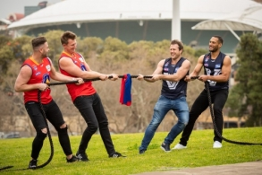 AFL 2018 Media - EJ Whitten Legends Game Media Opportunity