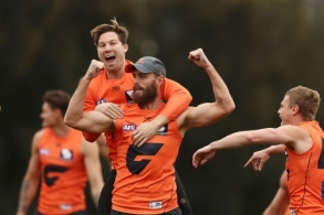 AFL 2018 Media - GWS Training