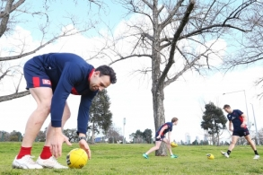 AFL 2018 Training - Melbourne 030918