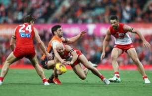 AFL 2018 Second Elimination Final - Sydney v GWS