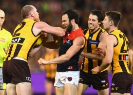 AFL 2018 First Semi Final - Hawthorn v Melbourne