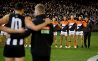 AFL 2018 Second Semi Final - Collingwood v GWS