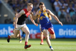 AFL 2018 Second Preliminary Final - West Coast v Melbourne