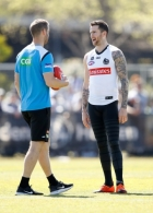 AFL 2018 Training - Collingwood 270918