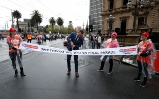 AFL 2018 Media - Toyota AFL Grand Final Parade