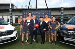 AFL 2018 Media - GWS Sponsorship Announcement 151118