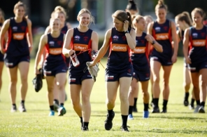 AFLW 2018 Training - Melbourne 151118