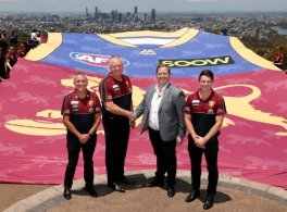 AFL 2018 Media - Brisbane Lions Sponsor Announcement