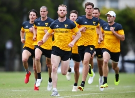 AFL 2018 Media - Hawthorn Training and Media Opportunity 031218