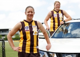 AFL 2018 Media - Hawthorn Nissan Sponsorship Announcement