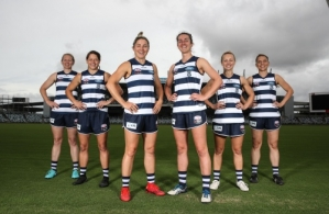 AFLW 2018 Media - Geelong Player Leadership Group