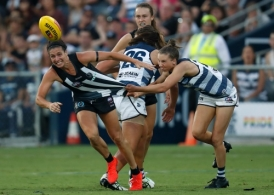 AFLW 2019 Rd 01 - Geelong v Collingwood