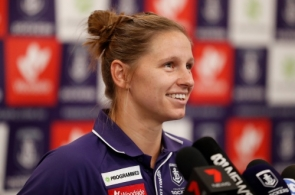 AFLW 2019 Media - Kiara Bowers Press Conference