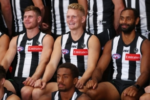 AFL 2019 Media - Collingwood Team Photo Day