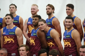 AFL 2019 Media - Brisbane Lions Team Photo Day