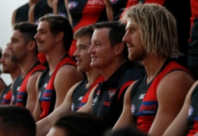 AFL 2019 Media - Essendon Team Photo Day