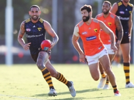 AFL 2019 Training - Hawthorn Intraclub