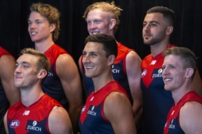 AFL 2019 Media - Melbourne Team Photo Day
