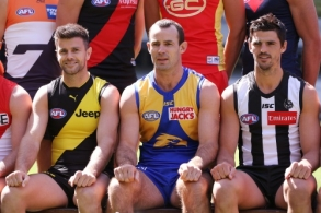 AFL 2019 Media - AFL Captains Day